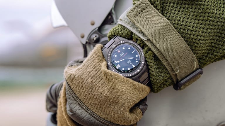 Yema reveals its Superman watch for the French Air Force