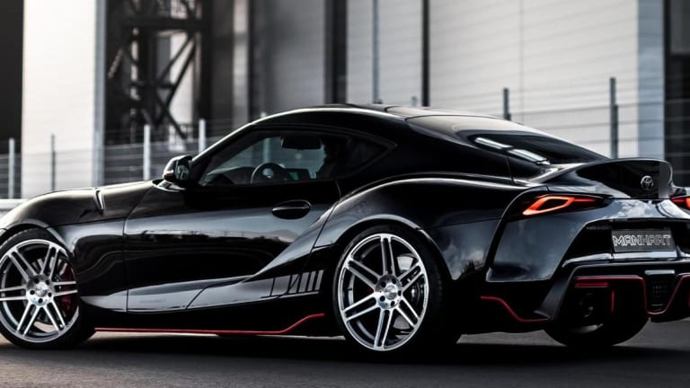 Manhart squeezes even more power out of the Toyota GR Supra