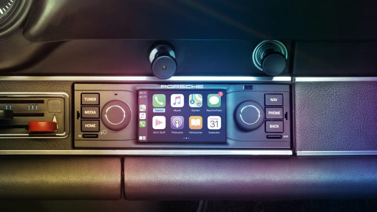 Porsche is bringing CarPlay to its classic models with its new PCCM system