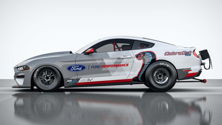 Ford reveals an all-electric 1400 hp Mustang Cobra Jet 1400