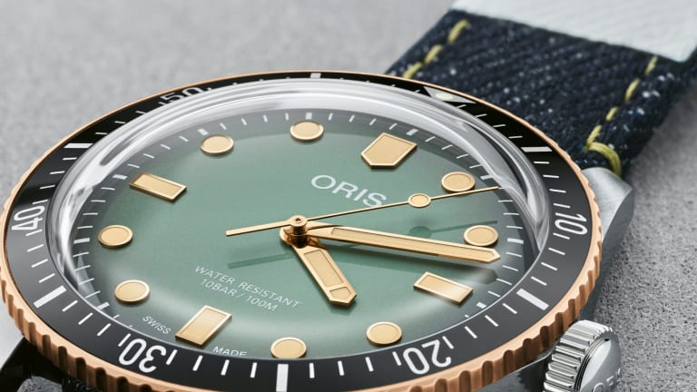 Oris teams up with Momotaro on a special edition of the Divers Sixty-Five