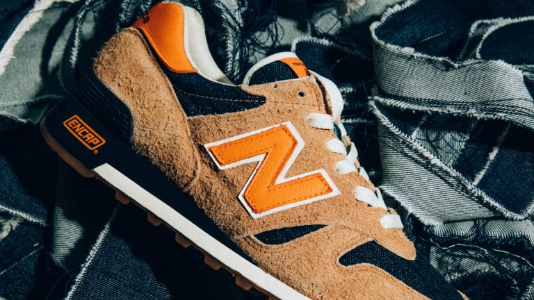 New Balance releases a pair of Levi's for your feet