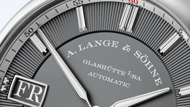 A. Lange & Söhne updates the Odysseus sport watch with white gold cases and leather straps