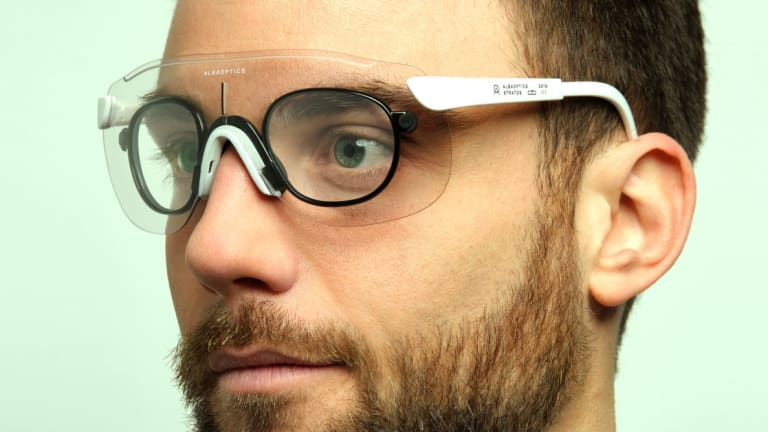 Alba's new Optical Clip makes it easy to add your prescription their performance shields