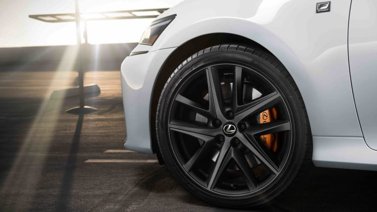 Lexus ends production of the GS with a new special edition Black Line model