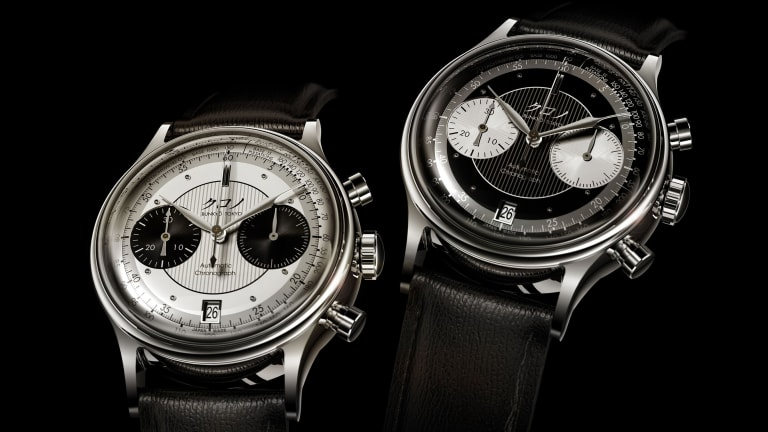 Kurono announces reveals its first chronograph, the Chronograph 1