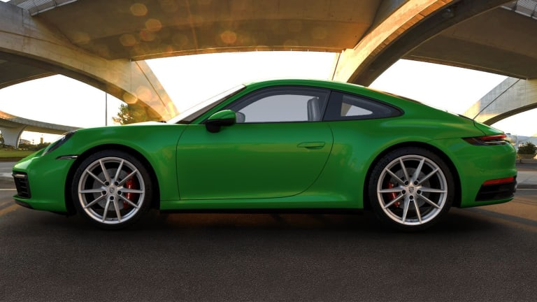 Porsche updates the 911 with a selection of new options and a new exterior color