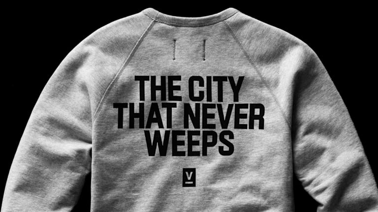 Reigning Champ and Victory Journal show some love to the greatest city in the world with a very special capsule