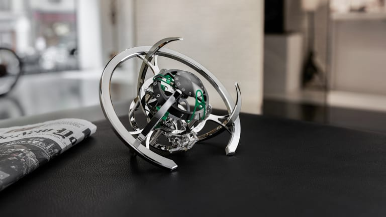 MB&F and L'Épée 1839 release a new horological mothership for your desk
