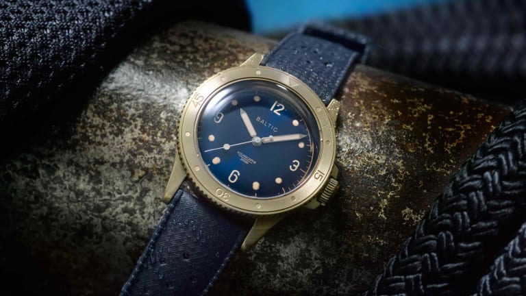 Baltic releases the Aquascaphe with a stunning bronze case