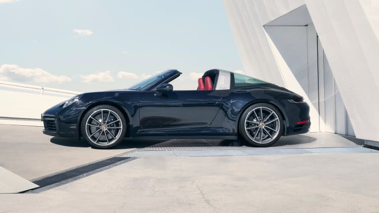 Porsche reveals the eighth-generation 911 Targa