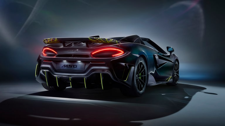McLaren releases the final twelve 600LT Spiders with an exclusive MSO design theme