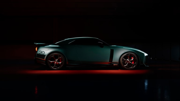 Italdesign reveals the first production Nissan GT-R 50