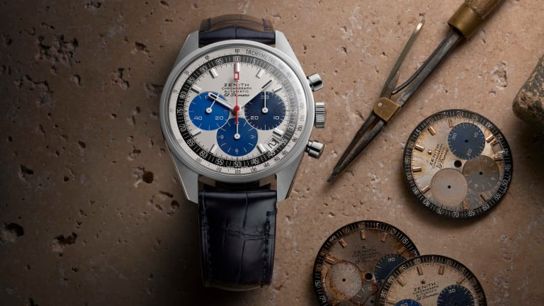 Zenith brings back a never before seen dial for its Chronomaster Revival Manufacture Edition