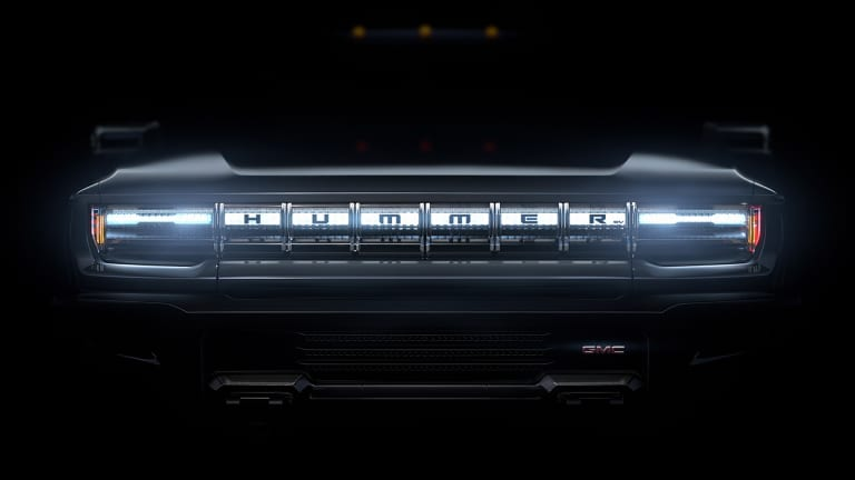 GMC teases the Hummer EV's removable roof panels