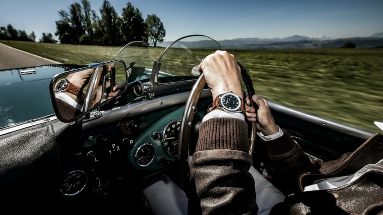 Frederique Constant adds a new model to its Vintage Rally line with Austin-Healey