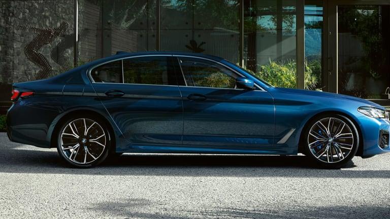 BMW reveals the 2021 5 Series sedan