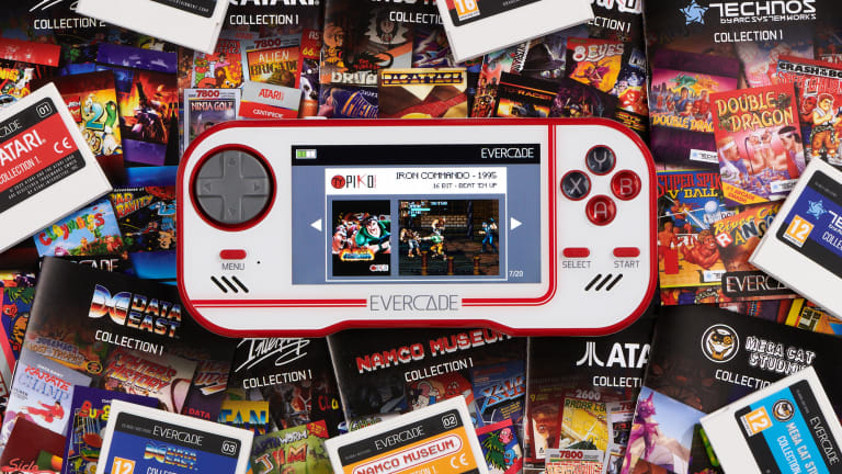 Evercade drums up the nostalgia with its retro gaming handheld