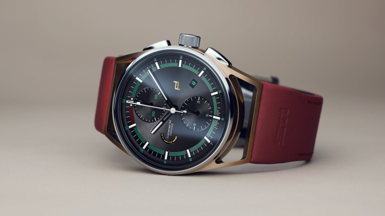 Porsche Design builds the perfect watch for the 911 Targa 4S Heritage Design Edition