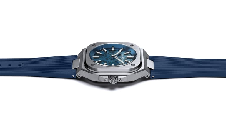 Bell & Ross unveils its latest BR 05, the Skeleton Blue