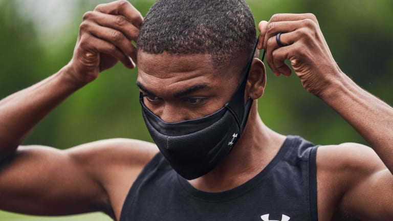 Under Armour releases a face mask designed from the ground up for athletes