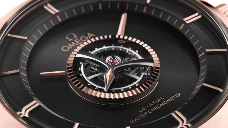 Omega reveals the De Ville Central Tourbillon Numbered Edition