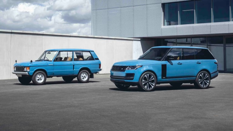 The Range Rover celebrates its fiftieth birthday with a new limited edition