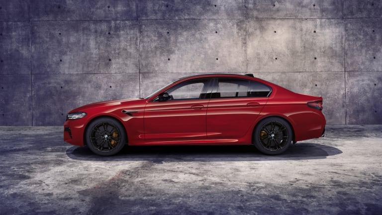 BMW reveals the updated 2021 M5 sedan