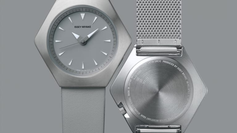 Issey Miyake releases a new watch by Konstantin Grcic