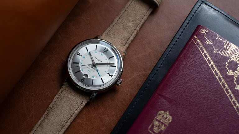 Bravur refines its Geography GMT with an updated design
