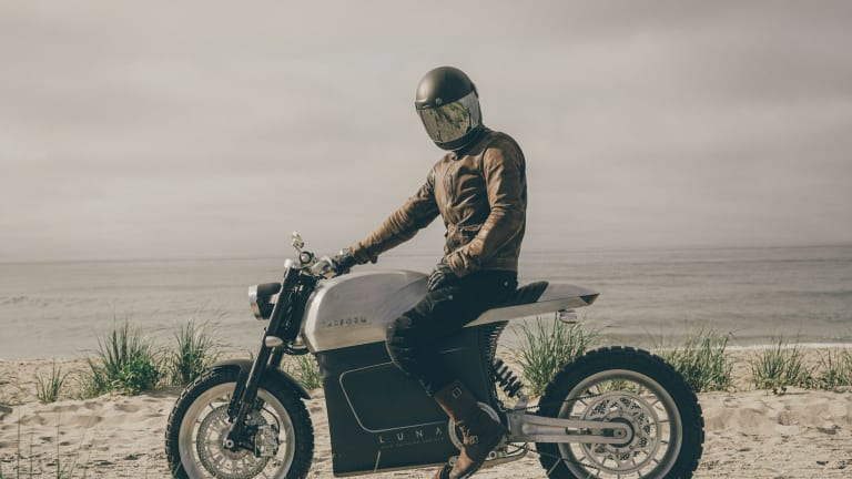 Tarform reveals the production version of its Luna electric motorcycle