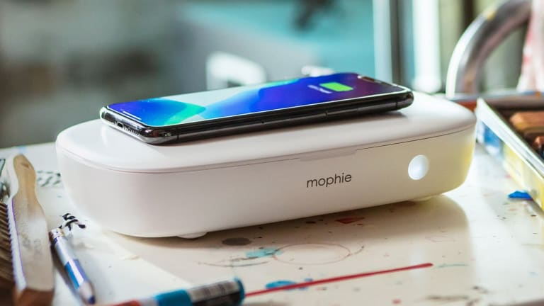 Mophie launches a UV sanitizer with wireless charging