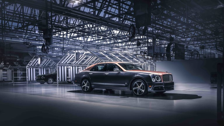 Bentley says one last goodbye to the Mulsanne