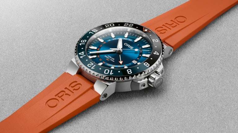 Oris releases its latest watch collaboration with the Coral Restoration Foundation