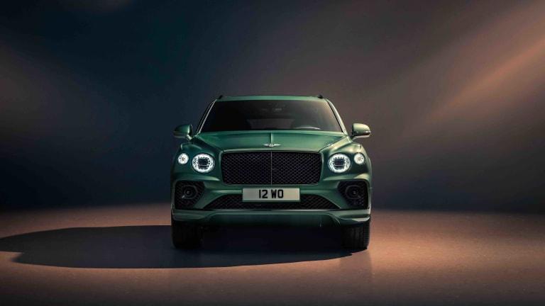 Bentley's terrain-devouring SUV has a new look
