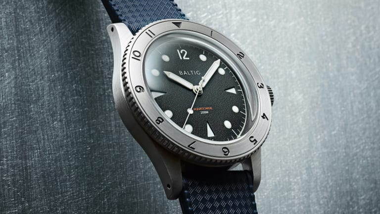 Baltic releases a new Aquascaphe with a 12-hour steel bezel