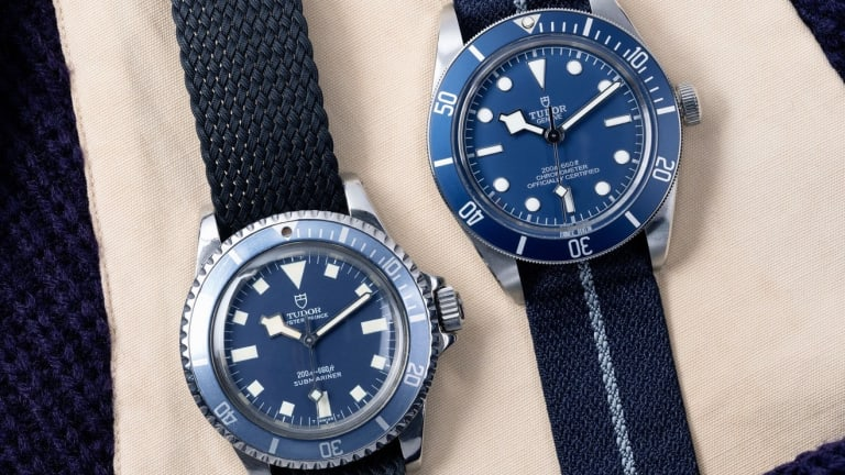 Tudor's latest Black Bay Fifty-Eight continues its tradition of blue sports watches
