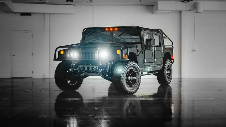 Mil-Spec gives its latest H1 build an overlanding upgrade