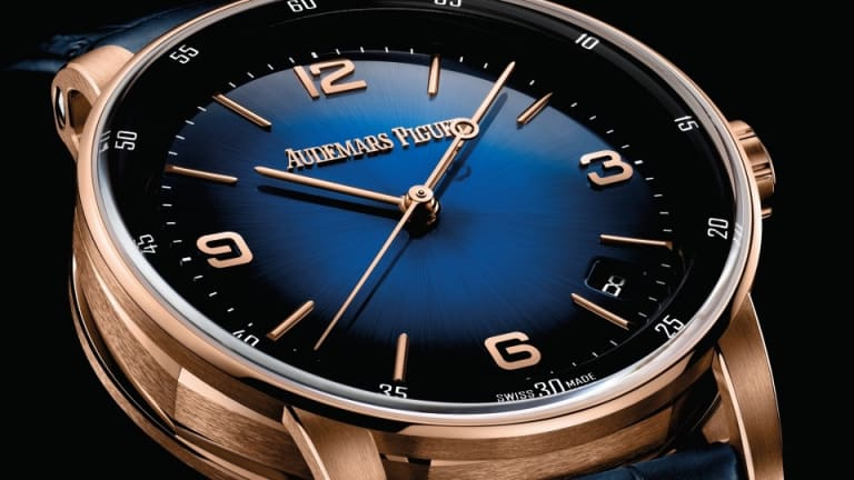 Audemars Piguet introduces a range of smoked sunburst lacquered dials for its Code 11.59 collection