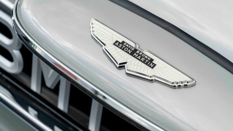 Aston Martin reveals its completed DB5 Goldfinger Continuation car
