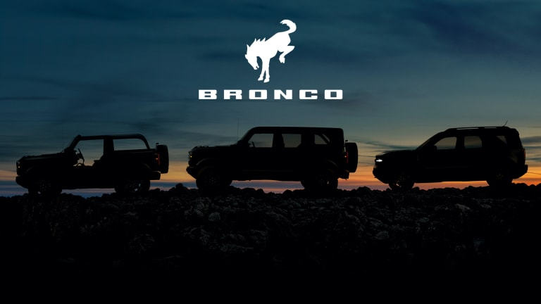 Ford previews the all-new Bronco family