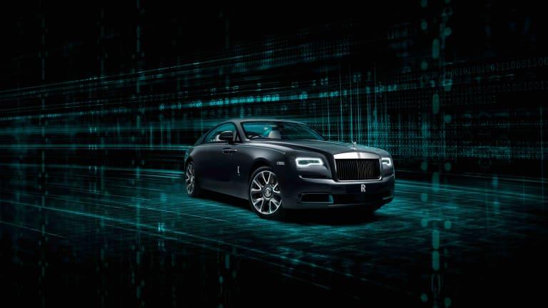 Rolls-Royce introduces its cryptography-inspired Wraith Kryptos