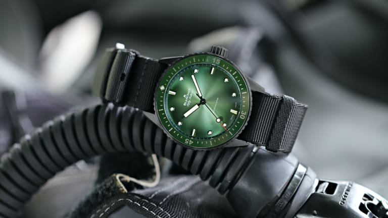 Blancpain's newest Bathyscaphe is dedicated to the protection of the hammerhead shark