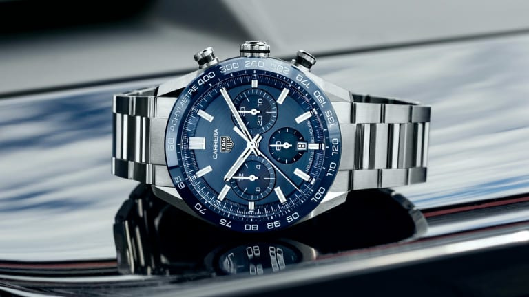 Tag Heuer launches its redesigned Carrera Chronograph collection