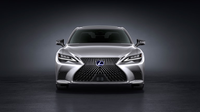 Lexus reveals the next evolution of their flagship sedan