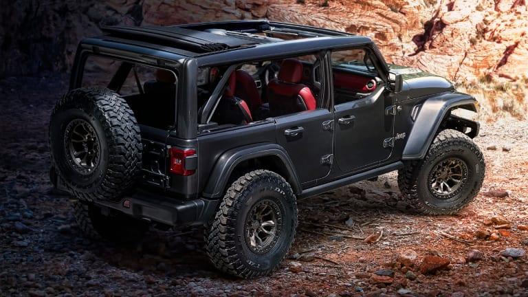 Jeep reveals a Wrangler concept with a 6.4L V8