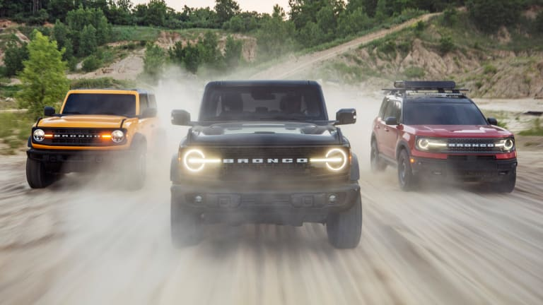 Ford reveals the all-new 2021 Bronco family
