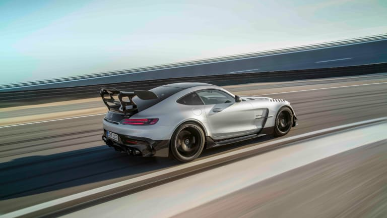 Mercedes-AMG unveils the 720 hp AMG GT Black Series