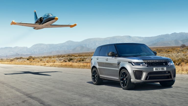 Land Rover launches a new flagship SVR Carbon Edition of the Range Rover Sport