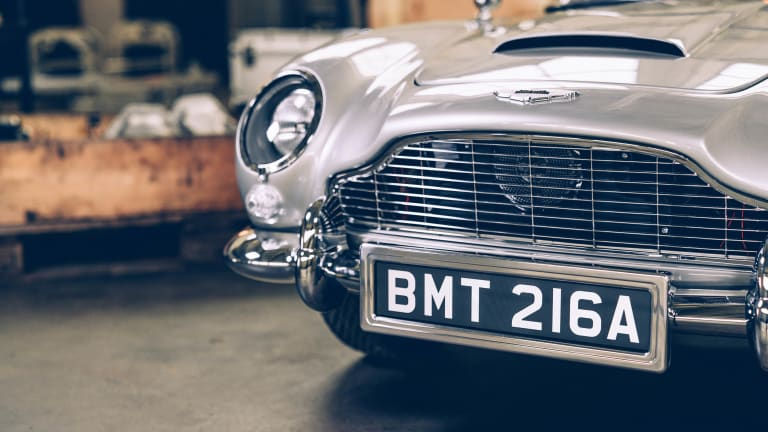 The Little Car Company and Aston Martin release a No Time to Die special edition DB5